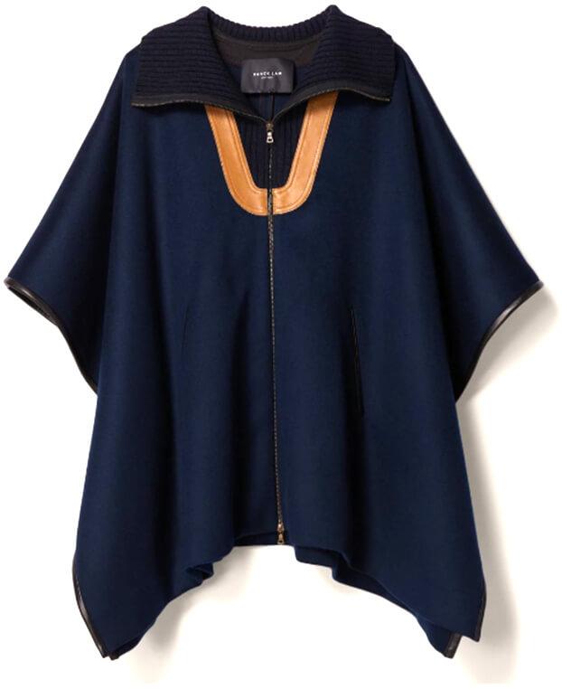 DEREK LAM navy cape