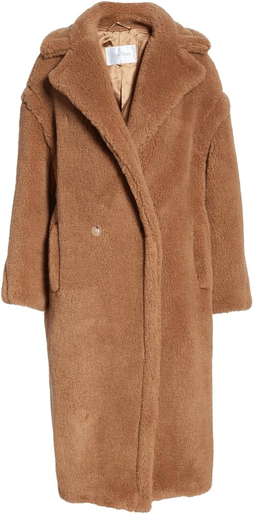 MAX MARA long beige coat