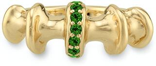 VRAM gold band ring