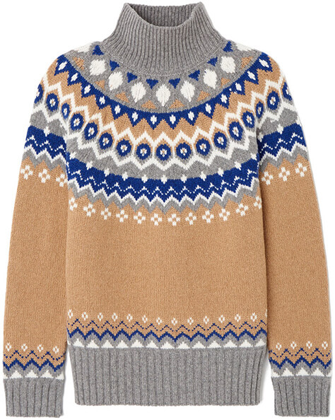 G Label Ana Fair Isle Sweater
