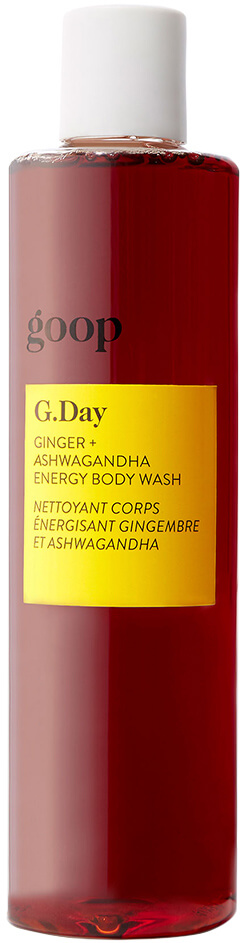 goop body G.DAY GINGER + ASHWAGANDHA ENERGY BODY WASH