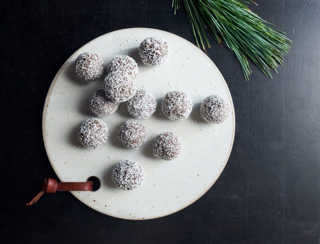 Espresso, Cacao & Coconut Truffles