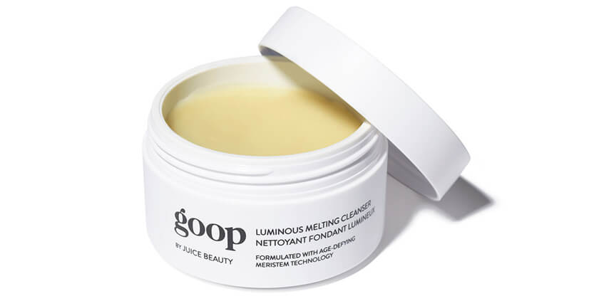 goop body LUMINOUS MELTING CLEANSER