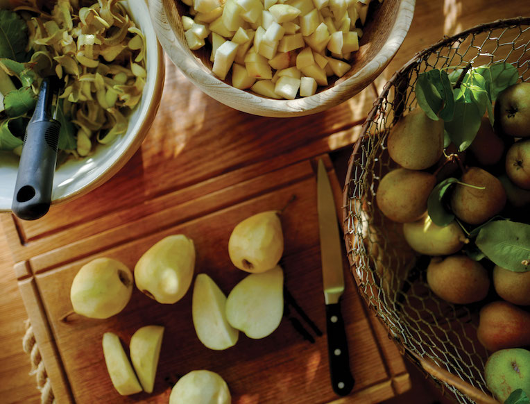 Laura Bailey's Pear Compote