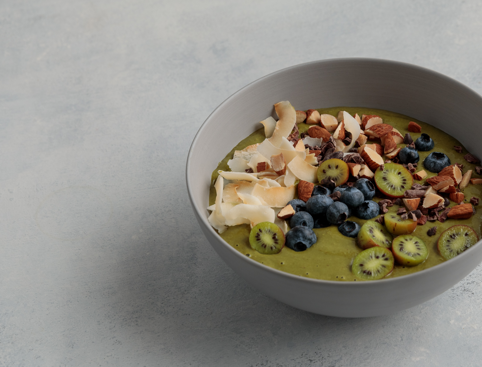 Matcha Almond Coconut Smoothie Bowl