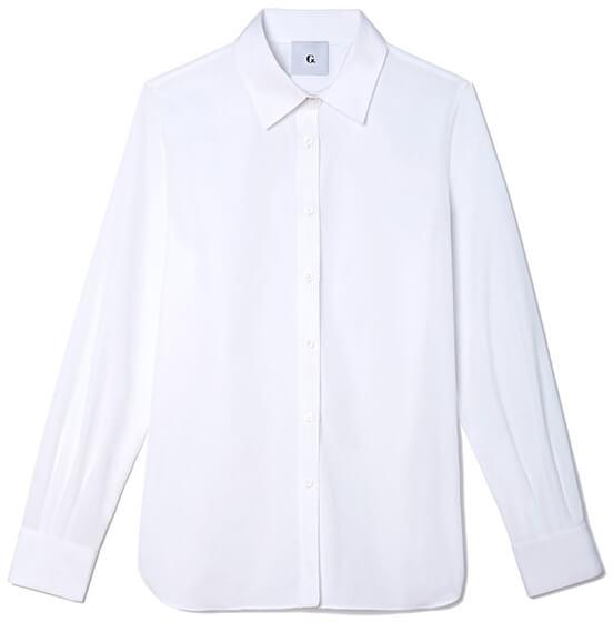 G. Label Tuxedo Shirt