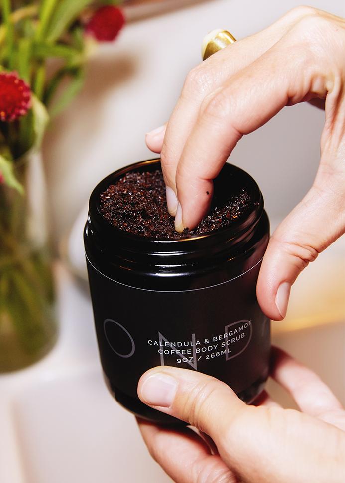 ONDA Beauty, ONDA Calendula + Bergamot Coffee Body Scrub