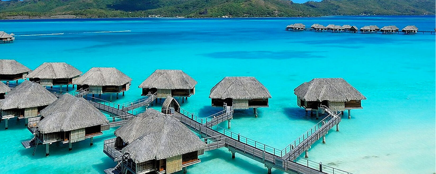 FROM THE WEST COAST: BORA BORA, FRENCH POLYNESIA
