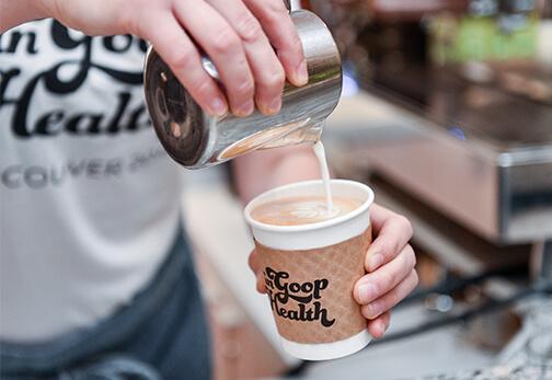 Coffee by East Van Roasters.