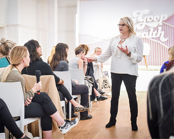 Connecting to the other side with psychic medium Susan Grau.