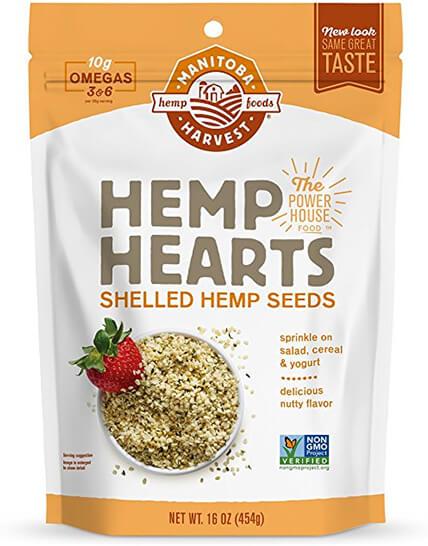 bag of hemp seeds