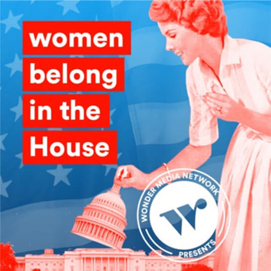 women belong in the house cover