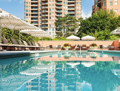 A swim at: