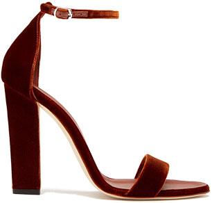 VICTORIA BECKHAM heel sandal
