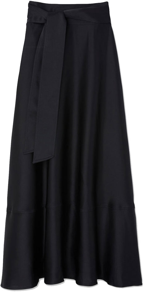 G. LABEL Lily Satin Skirt
