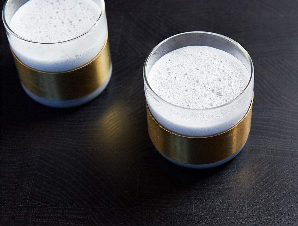 Activated Charcoal Chai latte