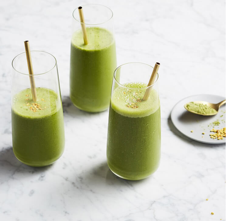 Matcha Morning Smoothie