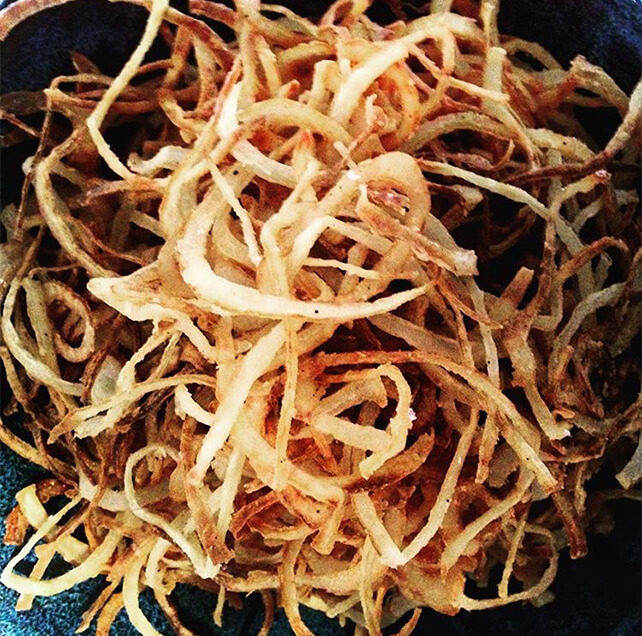 Crispy Fried Onions Thanksgiving