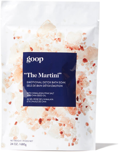 The Martini Goop Bath Soak