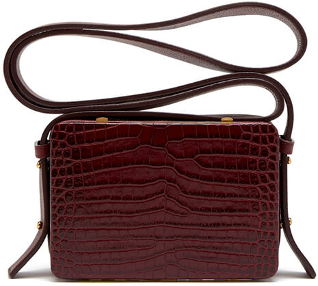Burgandy bag