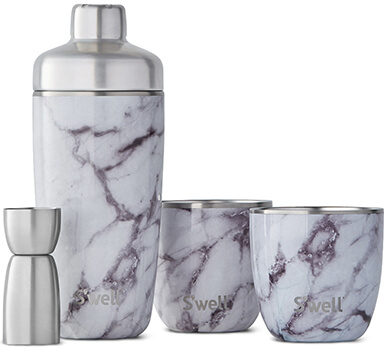 Swell marbled cocktail kit
