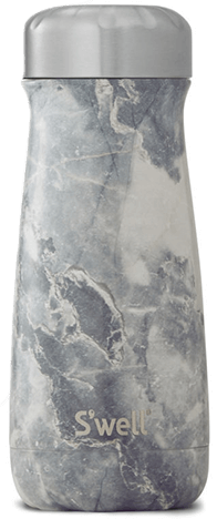 WHITE Marbled Swell Bottle