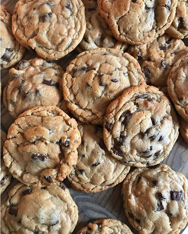 Tiny Boxwoods Chocolate Chip Cookies