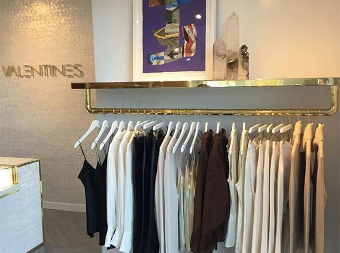 Valentines Rack of Clothing