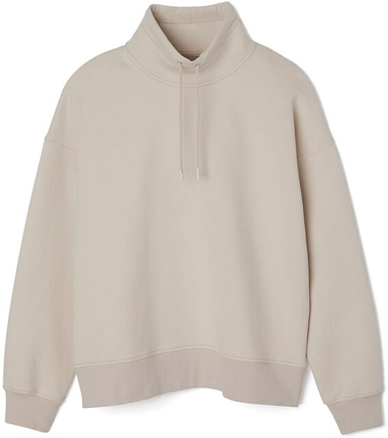 Grey Vince Pullover Sweater