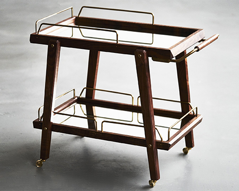 ROMAN AND WILLIAMS GUILD bar cart