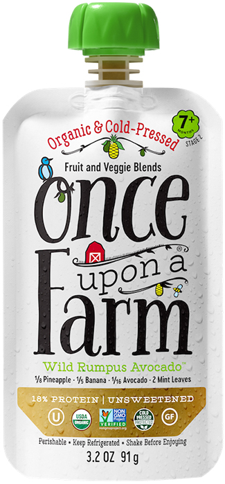 ONCE UPON A FARM Wild Rumpus Avocado
