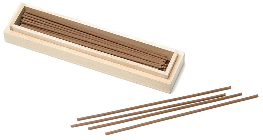 TENNEN STUDIO Ironwood Thorn Long Stick Incense Box of 50