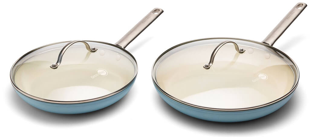 GOOP X GREENPAN goop Exclusive Covered Frypan Set
