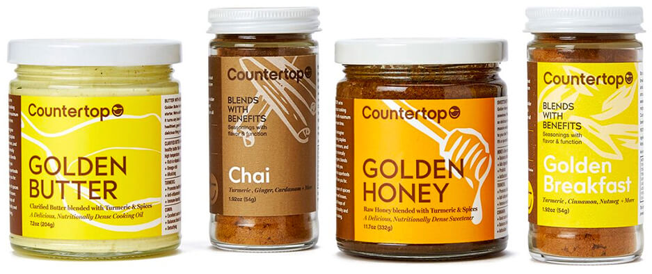 GOOP X COUNTERTOP FOODS goop Exclusive Golden Breakfast Gift Set