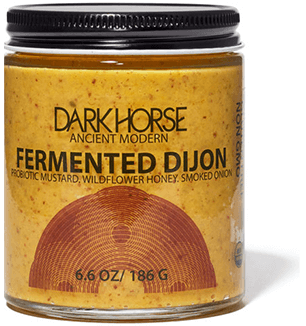 Dark Horse Organic Pickled Mustard Seed
