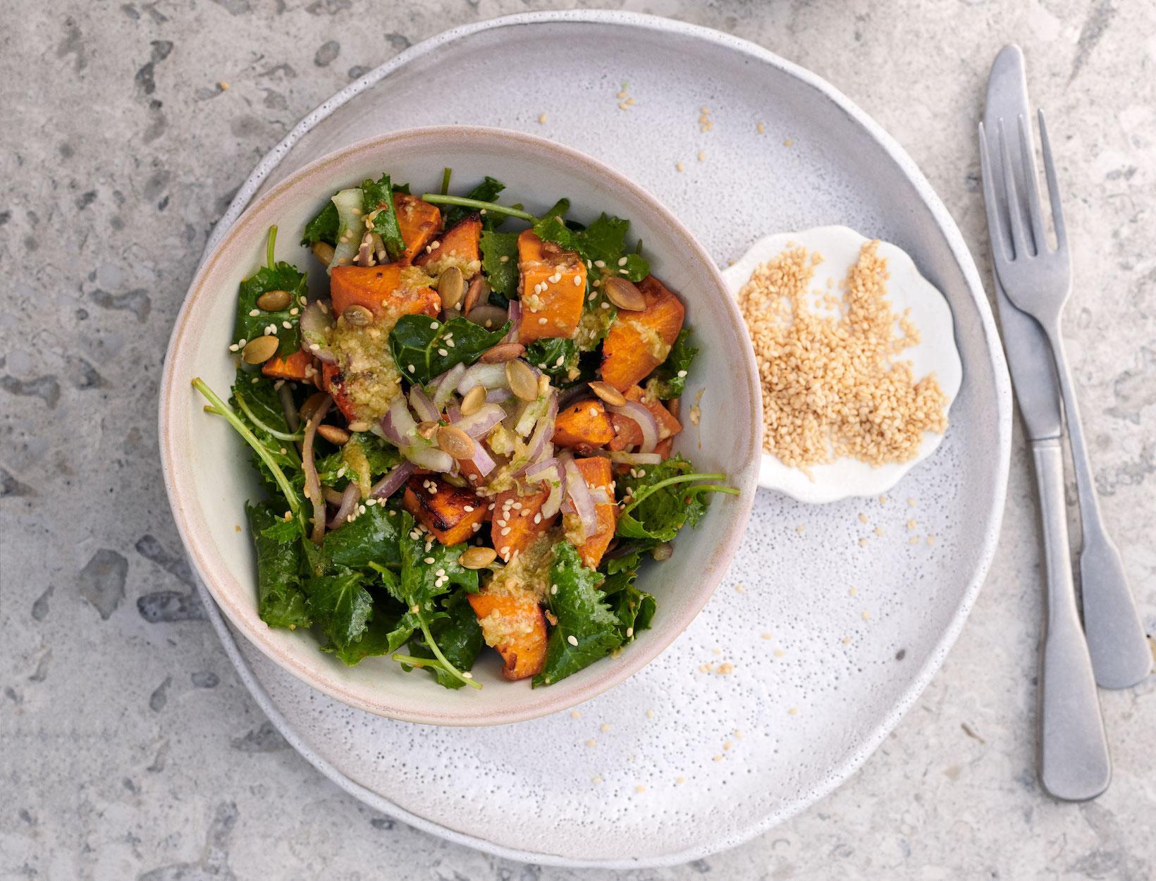 pics Warm Kale Salad
