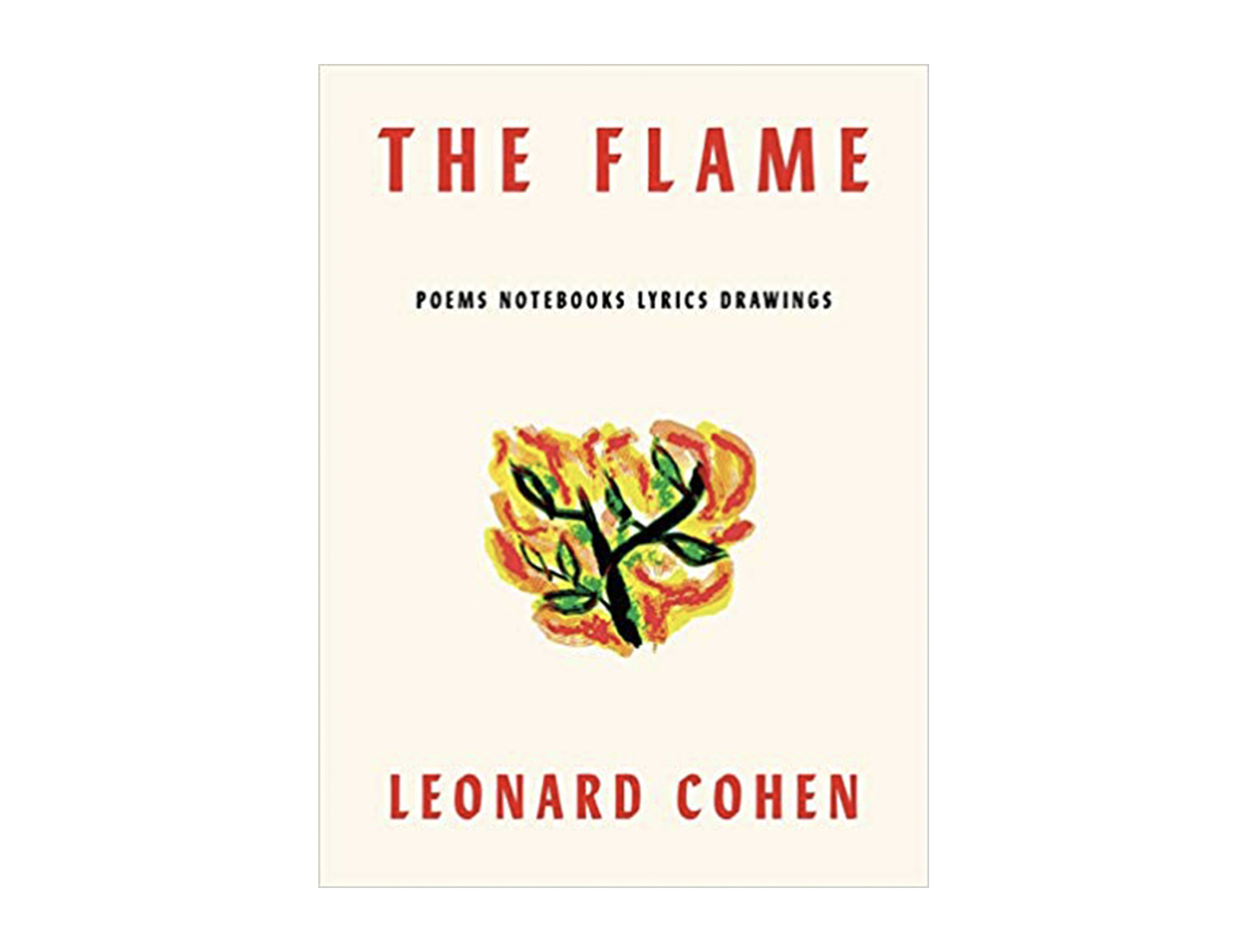 <em>The Flame</em> by Leonard Cohen