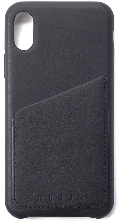Mujjo Full Leather Wallet Case for iPhone X