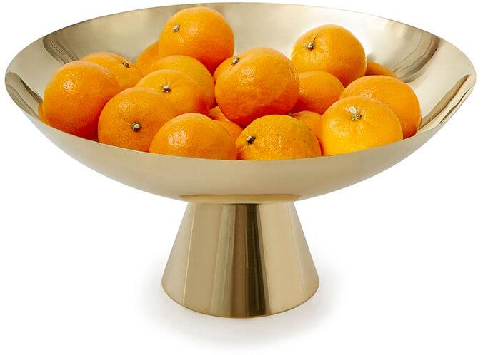 Brass Pedestal Bowl