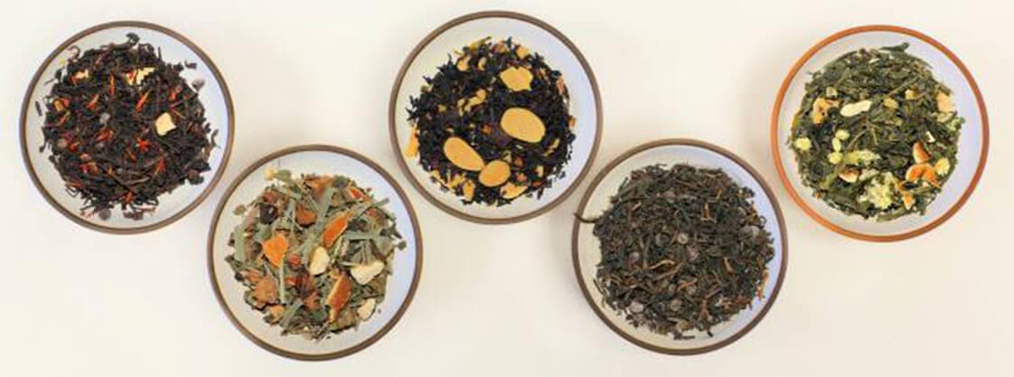 Display of Tea Leaves
