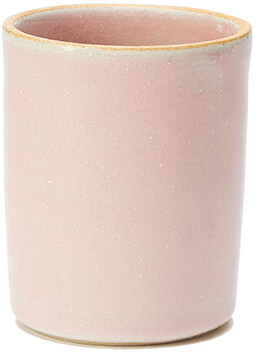 Pink Ceramic Tumbler
