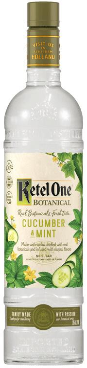 Bottle of Ketel One Botanical