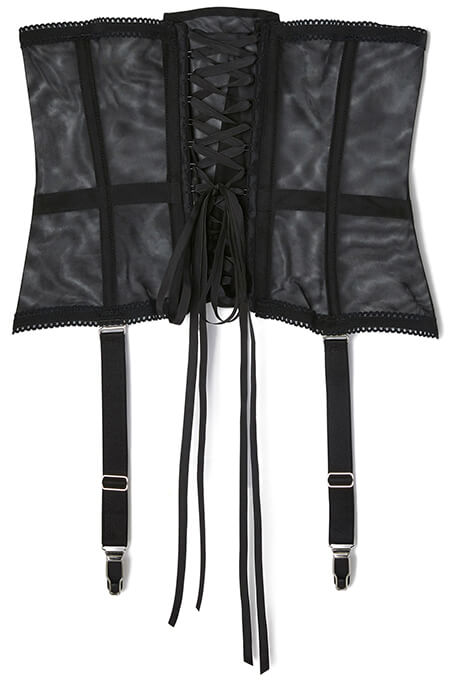 "Fifi Chanchil Black ""Paquita"" Waist Corset"