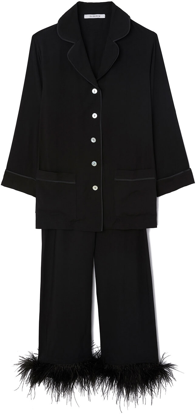 Sleeper Black Pajama Suit