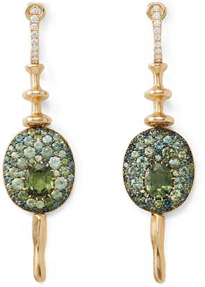 VRAM ONE-OF-A-KIND CHRONA EARRINGS