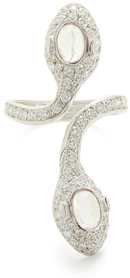 Colette Jewelry DOUBLE-HEADED SNAKE RING