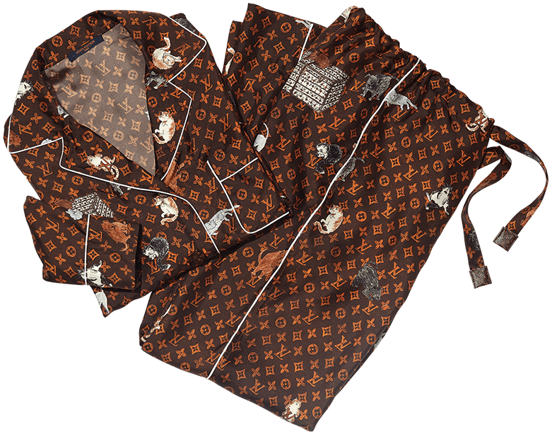 LOUIS VUITTON X GRACE CODDINGTON PAJAMAS pajamas