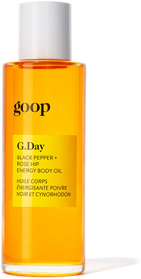 GOOP BODY G.DAY Black Pepper + Rosehip Energy Body Oil