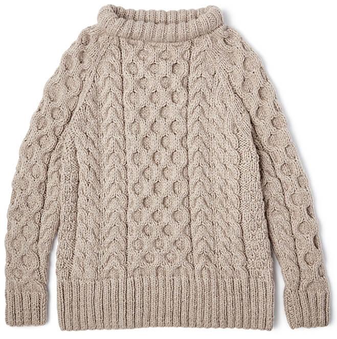 SMYTHE Cable Knit Crewneck