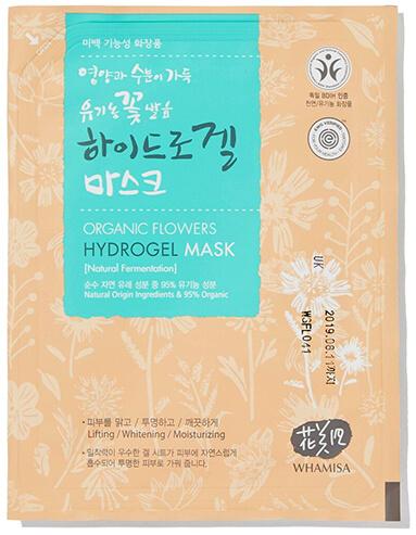 Whamsia Organic Flowers & Aloe Vera Fermented Hydrogel Sheet Mask